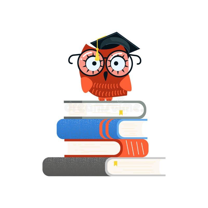 Воспитательные логотип и задняя часть к концепции школы бесплатная иллюстрация