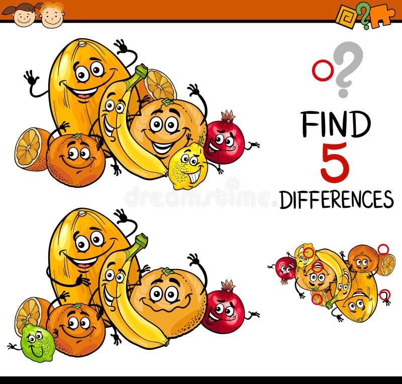 Воспитательная задача разниц иллюстрация штока