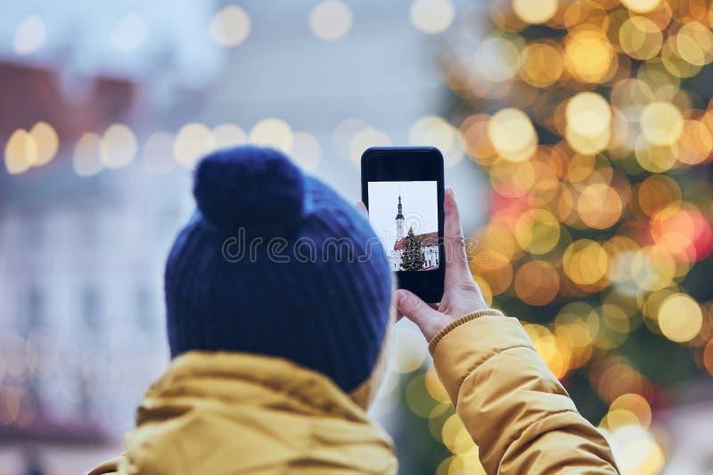 Воспоминания с рождественского рынка стоковые изображения rf