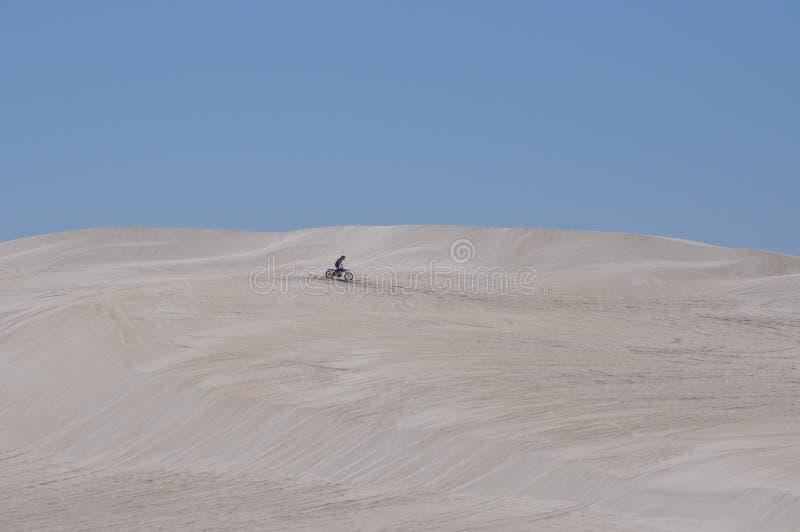 Воссоздание дюн Lancelin в западной Австралии стоковые изображения