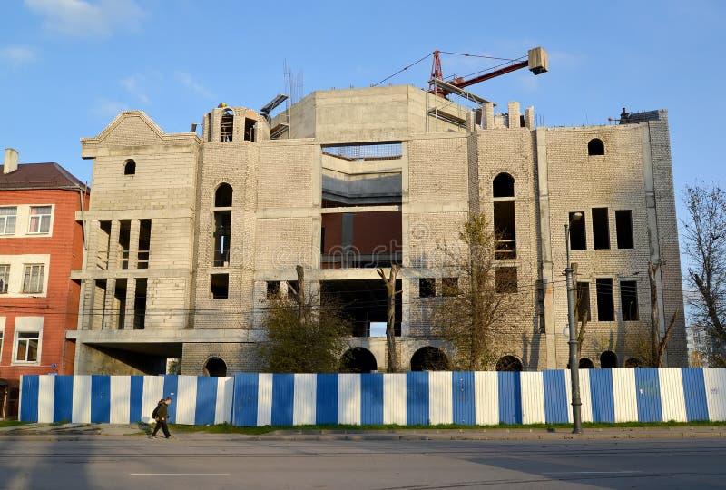 Восстановление конструкции синагоги либерала Kenigbergsky стоковые изображения
