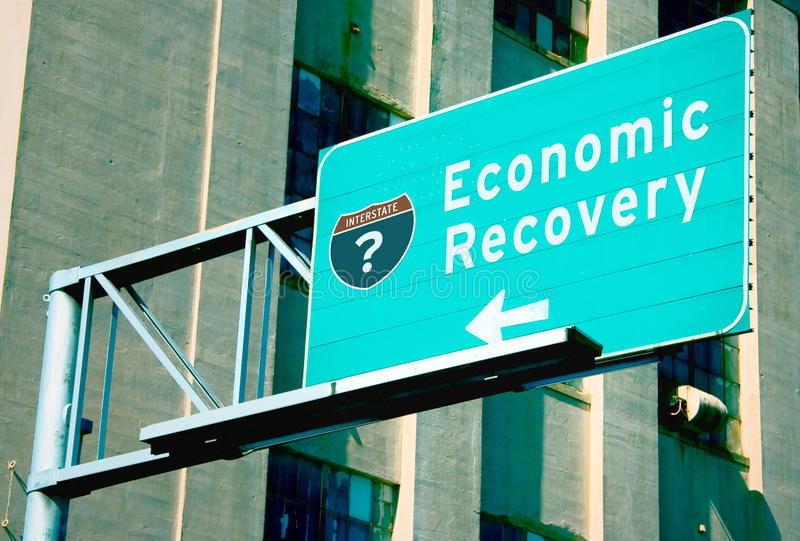 восстановление экономики Стоковые Изображения