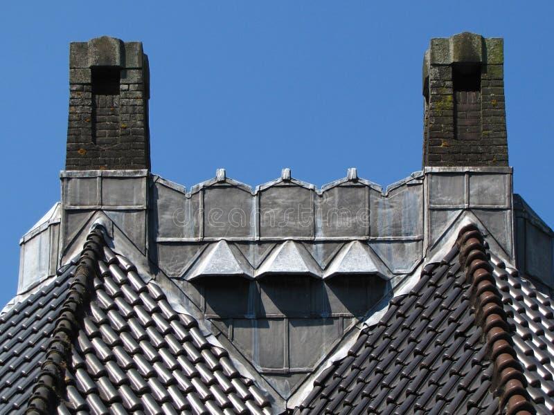Восстановленная крыша стоковое фото