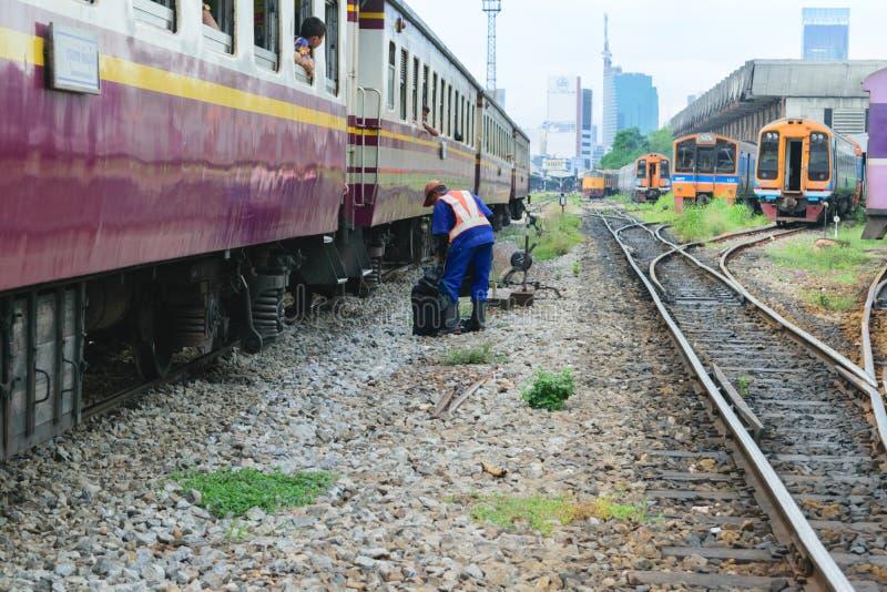Восстановление железнодорожные пути стоковая фотография