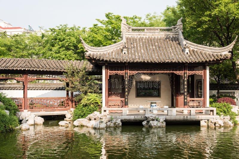 Восстановленный пейзаж сада стоковая фотография rf