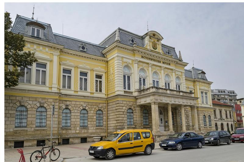 Восстановленный региональный исторический музей в городке уловки стоковая фотография