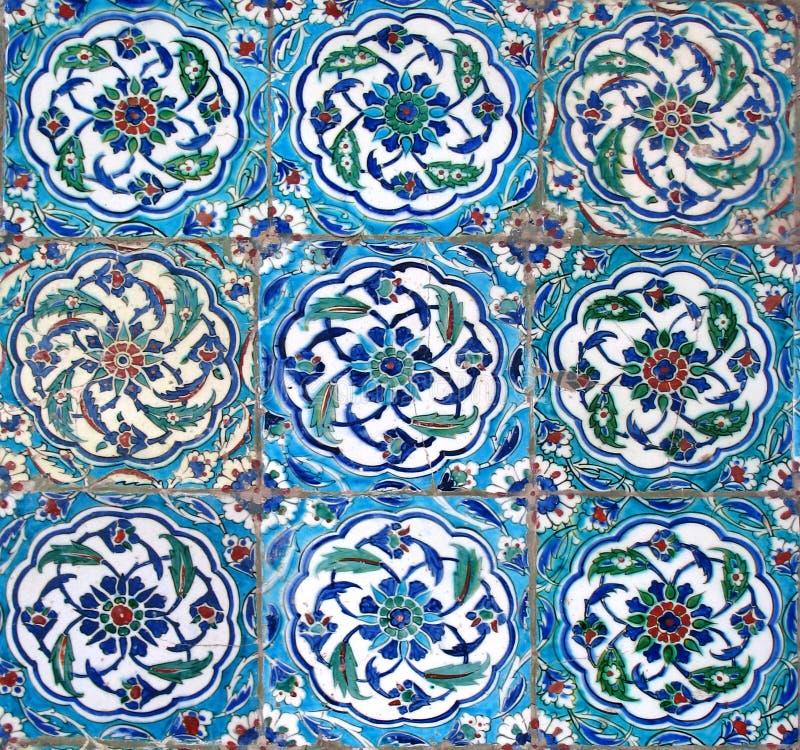 востоковедные плитки стоковые изображения rf