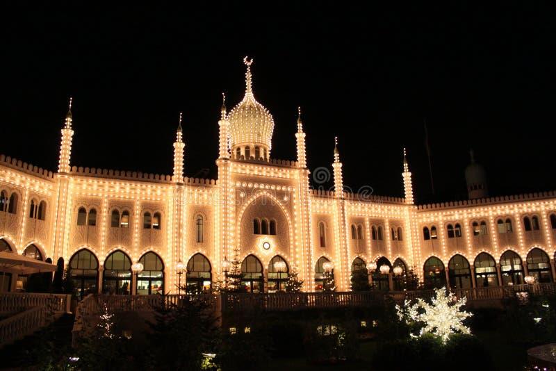 Востоковедный дворец в Tivoli стоковые фото