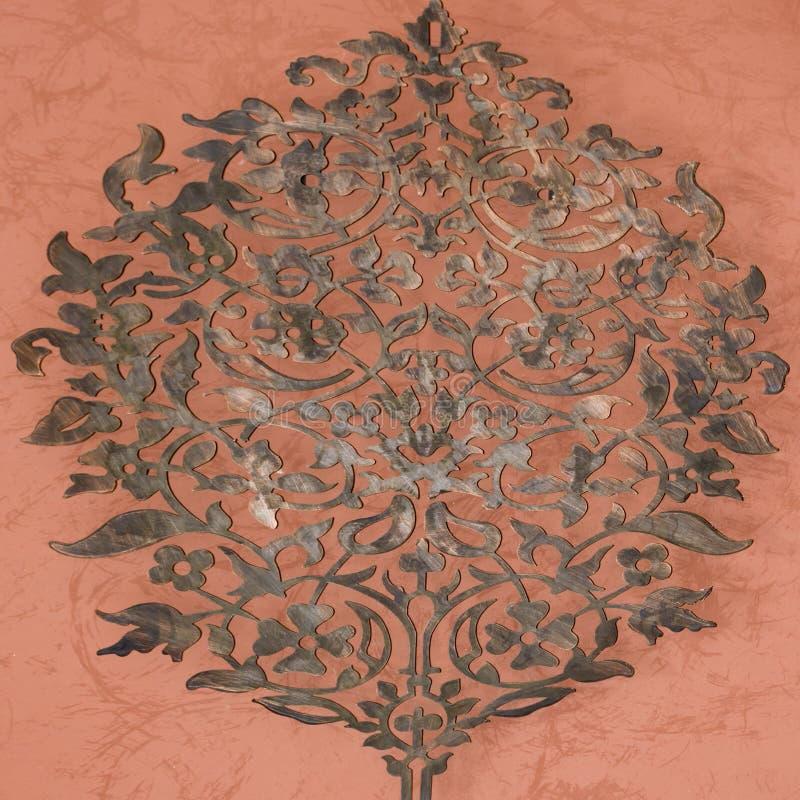 востоковедный орнамент стоковое изображение rf