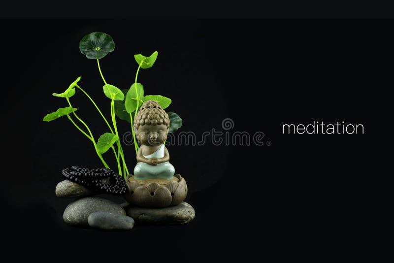 Восточная премудрость Будды стоковое изображение