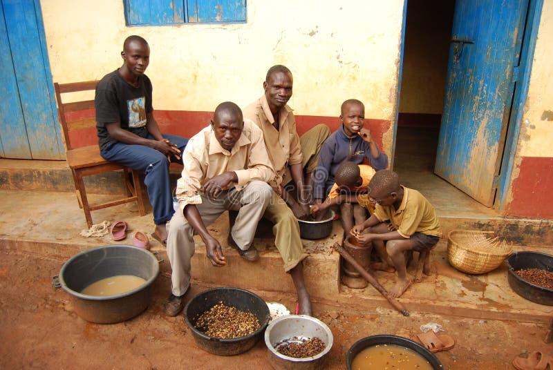 восточная Уганда стоковое изображение