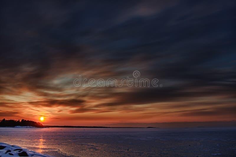 Восточное море стоковое изображение rf