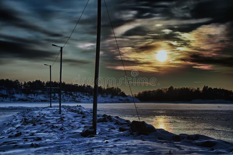 Восточное море стоковое фото
