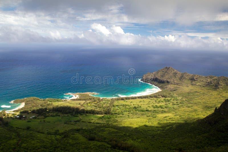 Восточное побережье Кауаи стоковое изображение rf