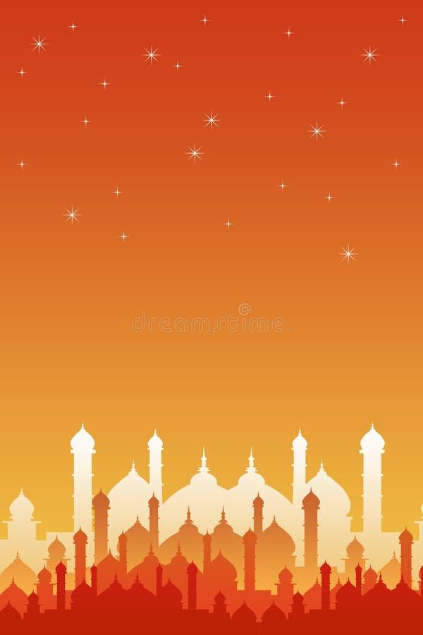 Восточные ночи бесплатная иллюстрация