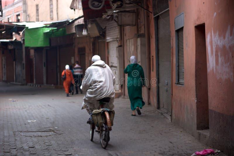 Восточные рынки в старом городке стоковые фотографии rf