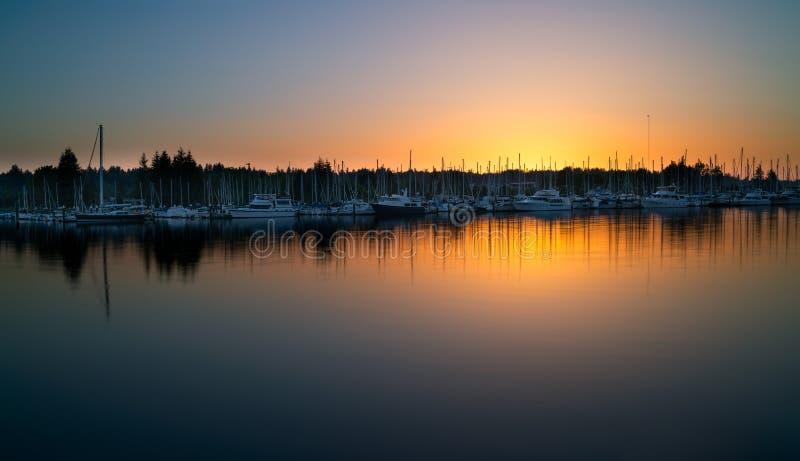 Восточный залив, Олимпия Вашингтон, США стоковые фото