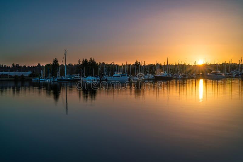Восточный залив, Олимпия Вашингтон, США стоковые изображения