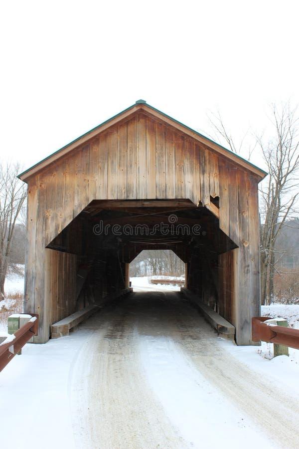 Восточный крытый мост Fairfield стоковые фотографии rf