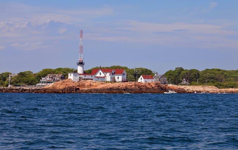 Восточный маяк пункта стоковое изображение