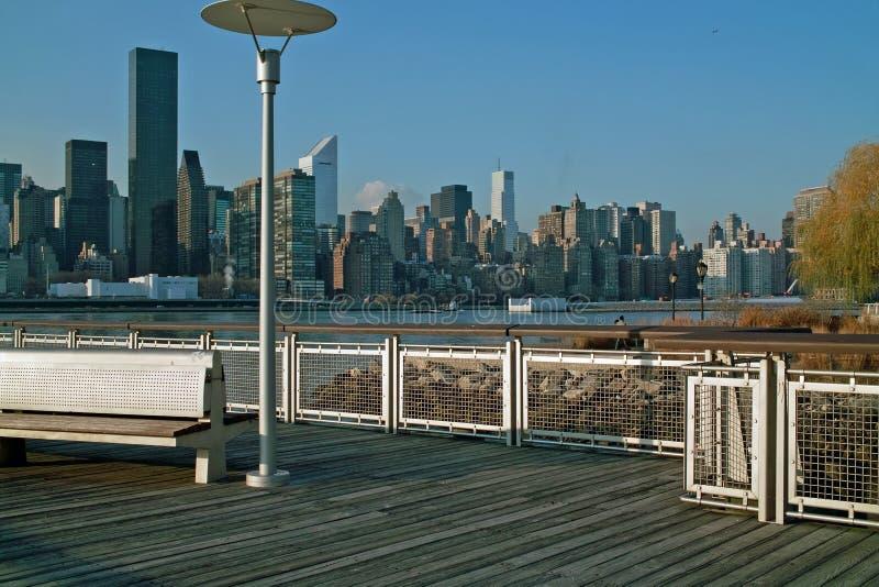 восточный manhattan новый бортовой верхний york стоковые изображения