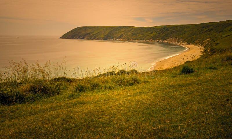 Восход побережья стоковая фотография
