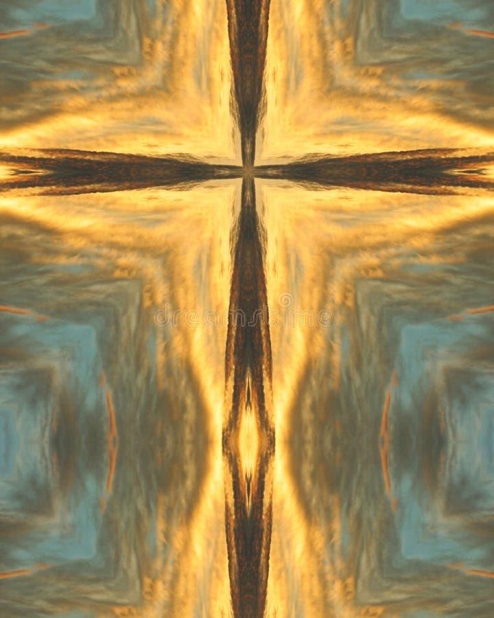 восход солнца Аризоны перекрестный стоковое фото