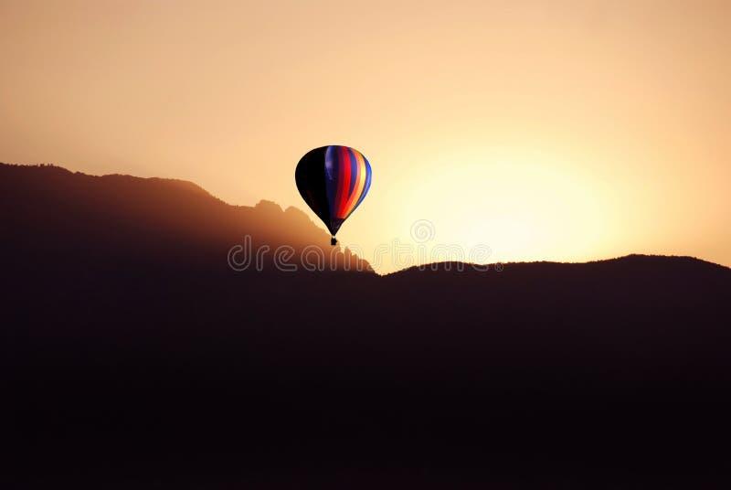 восход солнца езды стоковые фото