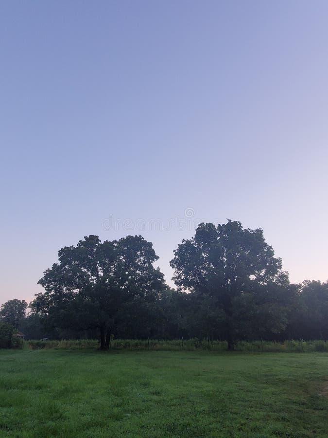 Восход солнца Миссури стоковое фото
