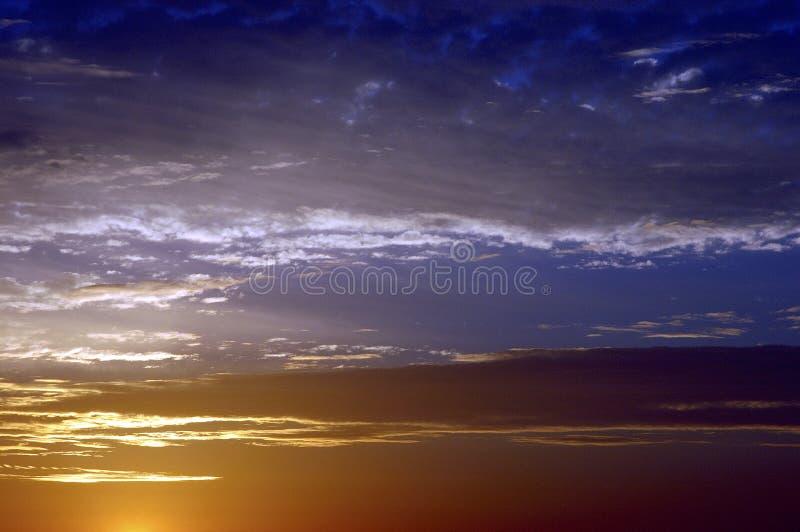восход солнца неба стоковые изображения