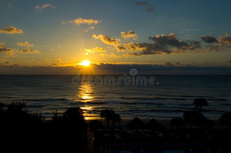 Восход солнца острова Hilton Head стоковые фото