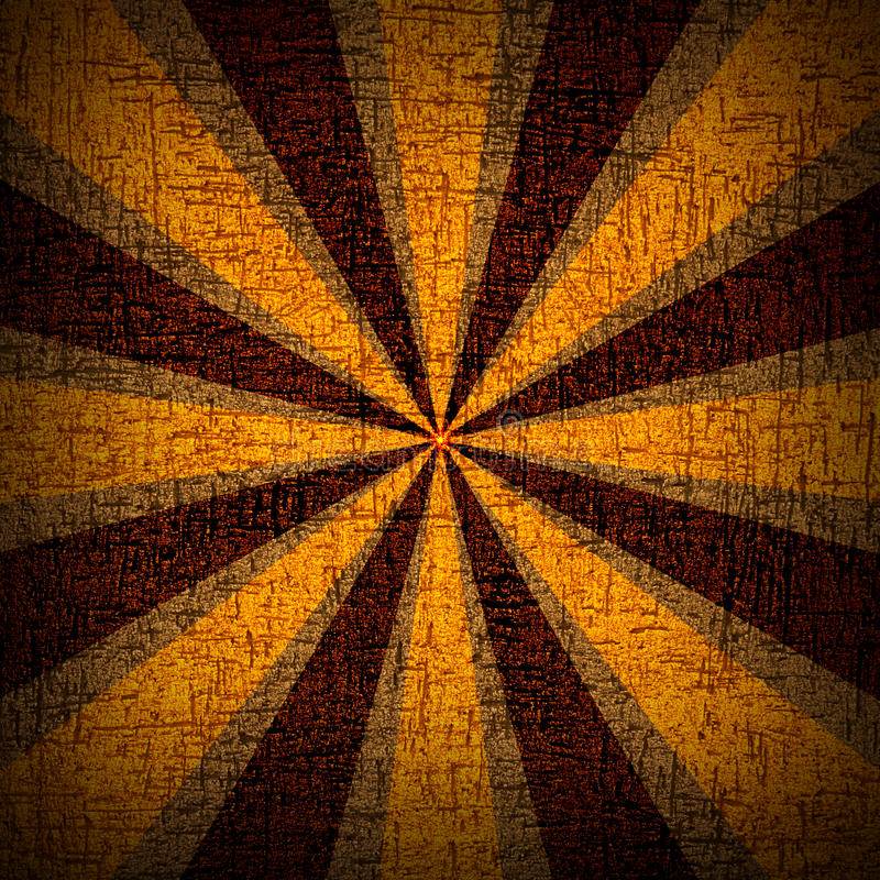восход солнца померанца grunge предпосылки иллюстрация штока