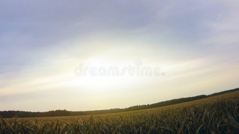 Восход солнца светлое небо вероисповедание jesus рая предпосылки стоковые изображения rf
