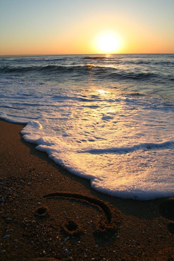 восход солнца усмешки стоковое изображение rf