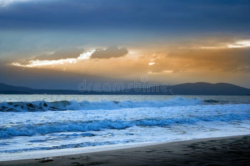 восход солнца 114 стоковое изображение rf