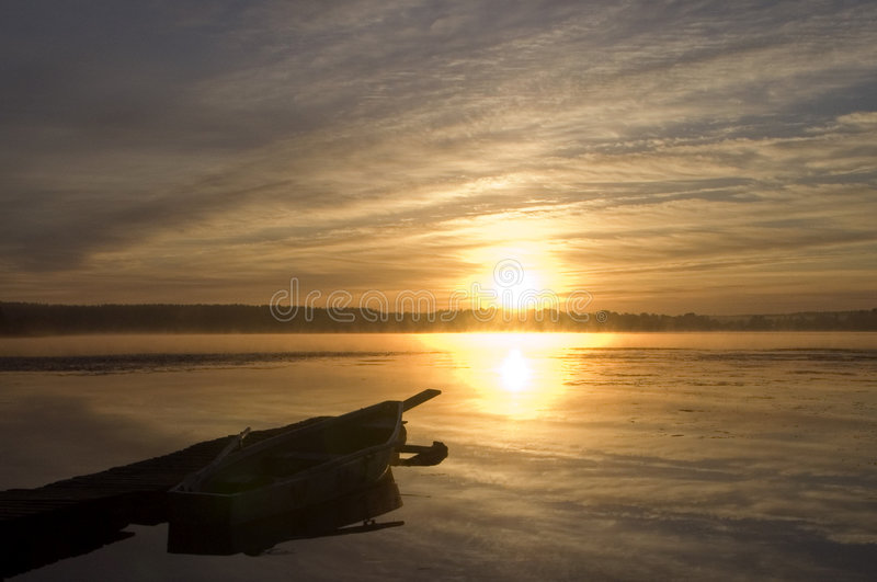восход солнца стоковая фотография rf