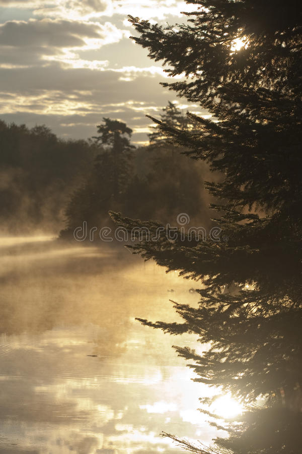 восход солнца adirondacks стоковое фото