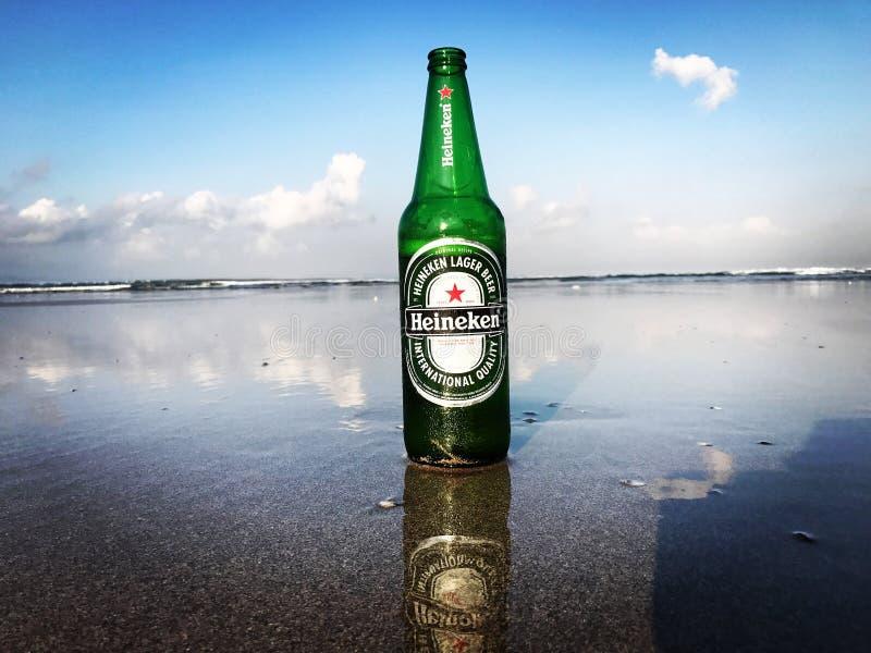 Восход солнца Heineken стоковые фотографии rf