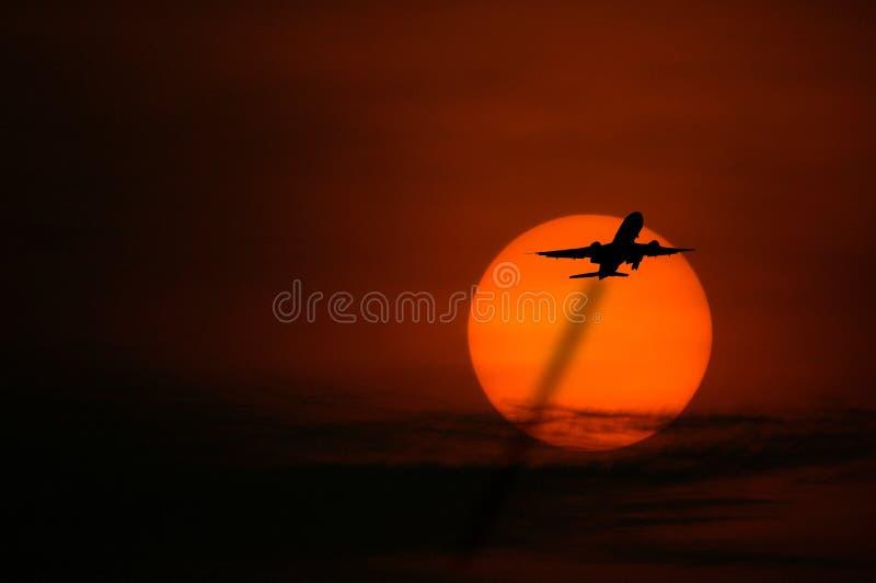 восход солнца singapore стоковая фотография rf
