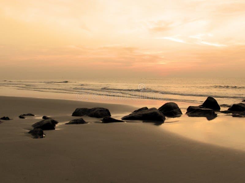 Восход солнца Tybee стоковые фото