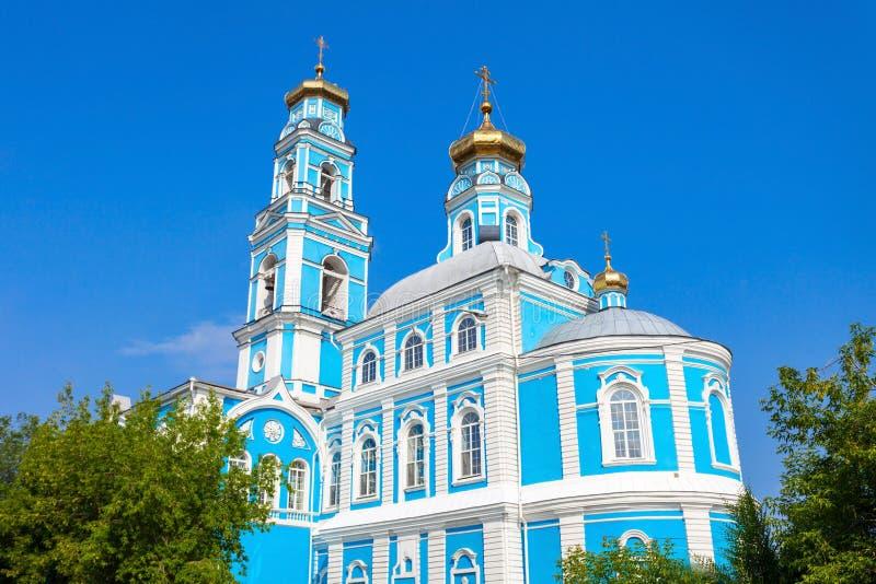 Восхождение церков Христоса стоковые изображения rf