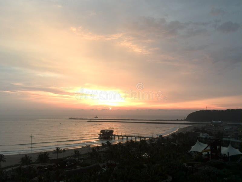 Восход солнца в Южной Африке стоковое фото rf