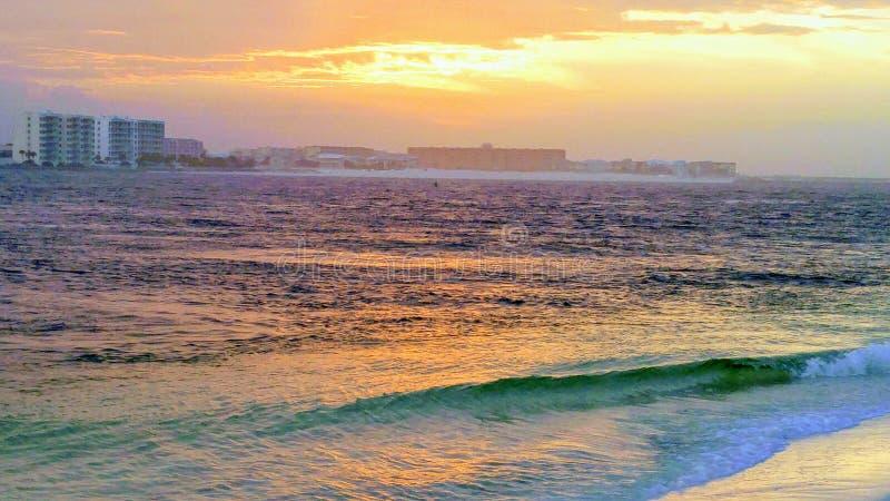 Восход солнца в Destin стоковые фото