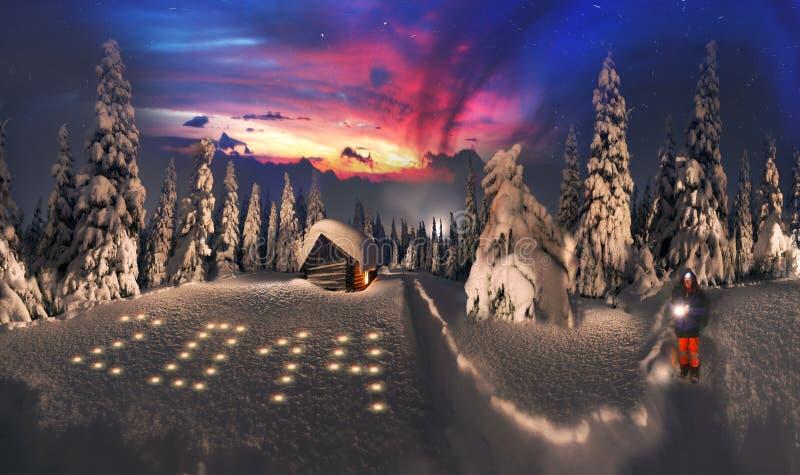 Восход солнца красоты высокогорный стоковые изображения