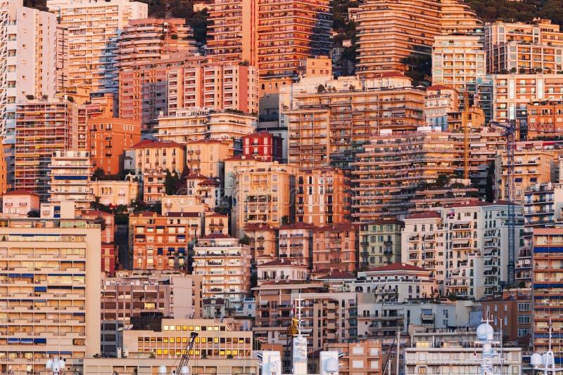 восход солнца Монако стоковые фото