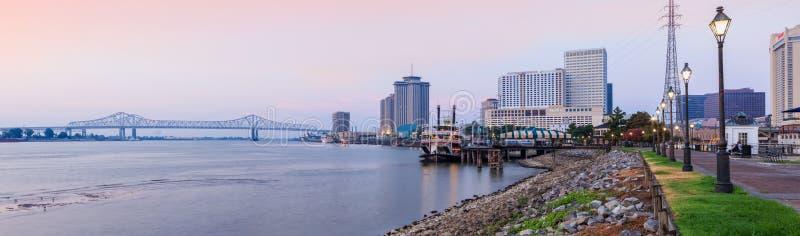Восход солнца Нового Орлеана стоковые фотографии rf