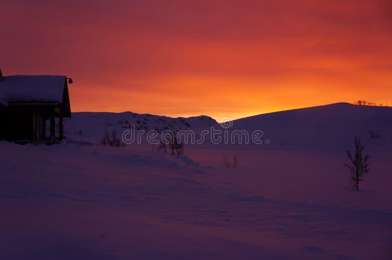 Восход солнца i стоковая фотография rf