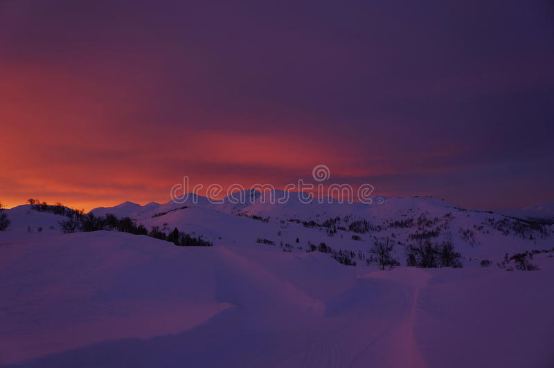 Восход солнца II стоковое фото