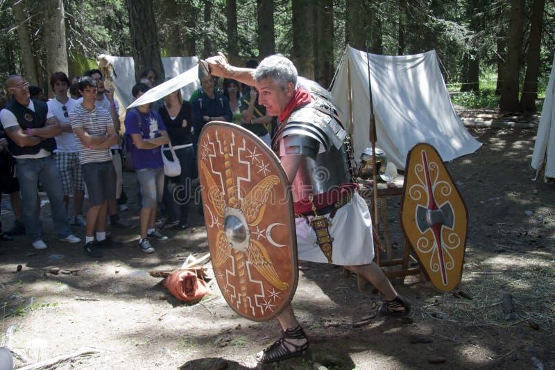 воюет legionary римский стоковое изображение