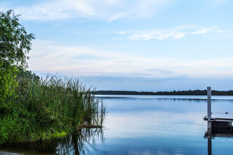 вода взгляда неба океана облака стоковое изображение rf